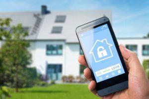 mobile app intruder alarm
