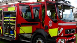 Conwy house fire