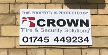 Crown signage shop