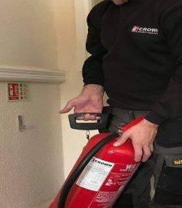 fire extinguishers service rhyl