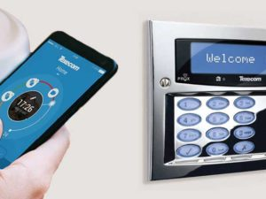 wireless smart intruder alarm